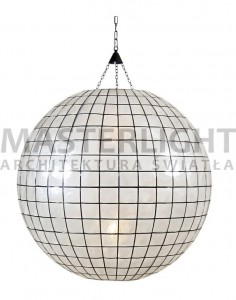 LAMPA ZWIESZANA SHELL BALL HK LIVING